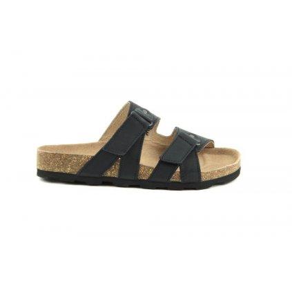 pantofle 2002/RAVENNA černé (Velikost Vel. 47)