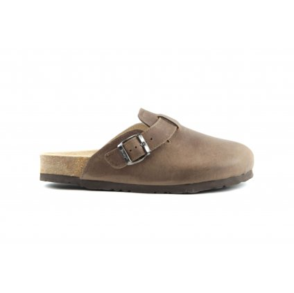 Pantofle TRENTO hnědé, 2002-T-22