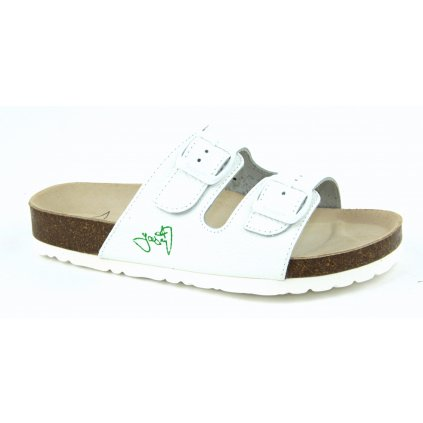 pantofle 2002B/PR2 bílá (Velikost Vel. 47)