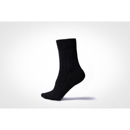 ponožky VIKI černé (Velikost 39-42)