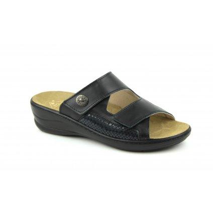 Pantofle MC-HALLUX černé