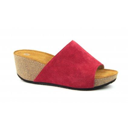 Pantofle TINA červené
