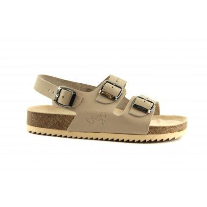 Sandály CLASSIC béžové, 2002-SR2-5