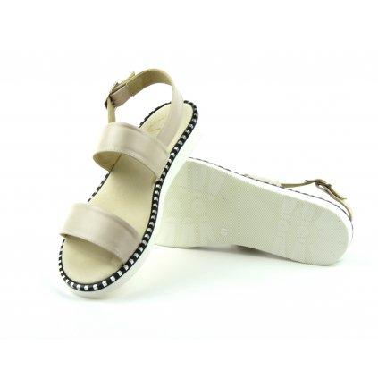 Sandály W-1093 béžové