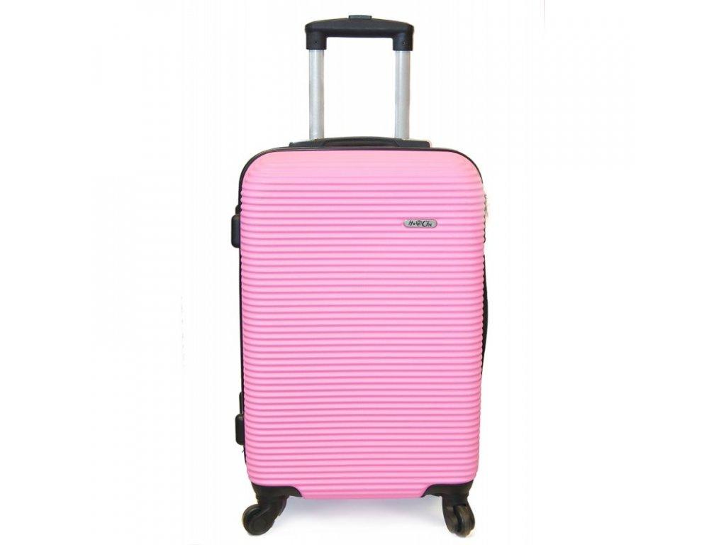 Cestovní kufr vyrobený na Slovensku CK02 - Růžový