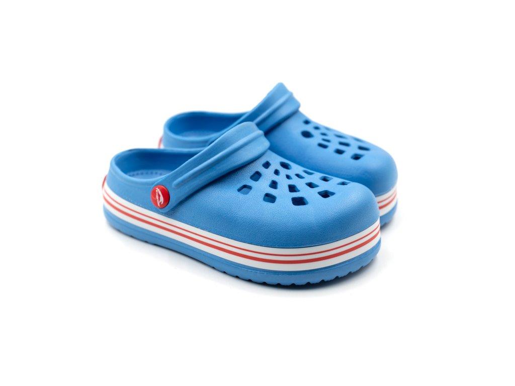 Dětské clogsy TexBase TXB-01 modré