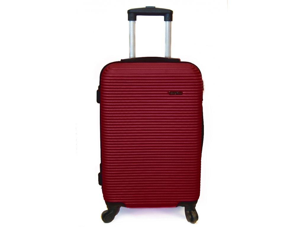 Cestovní kufr vyrobený na Slovensku CK02 - Bordó
