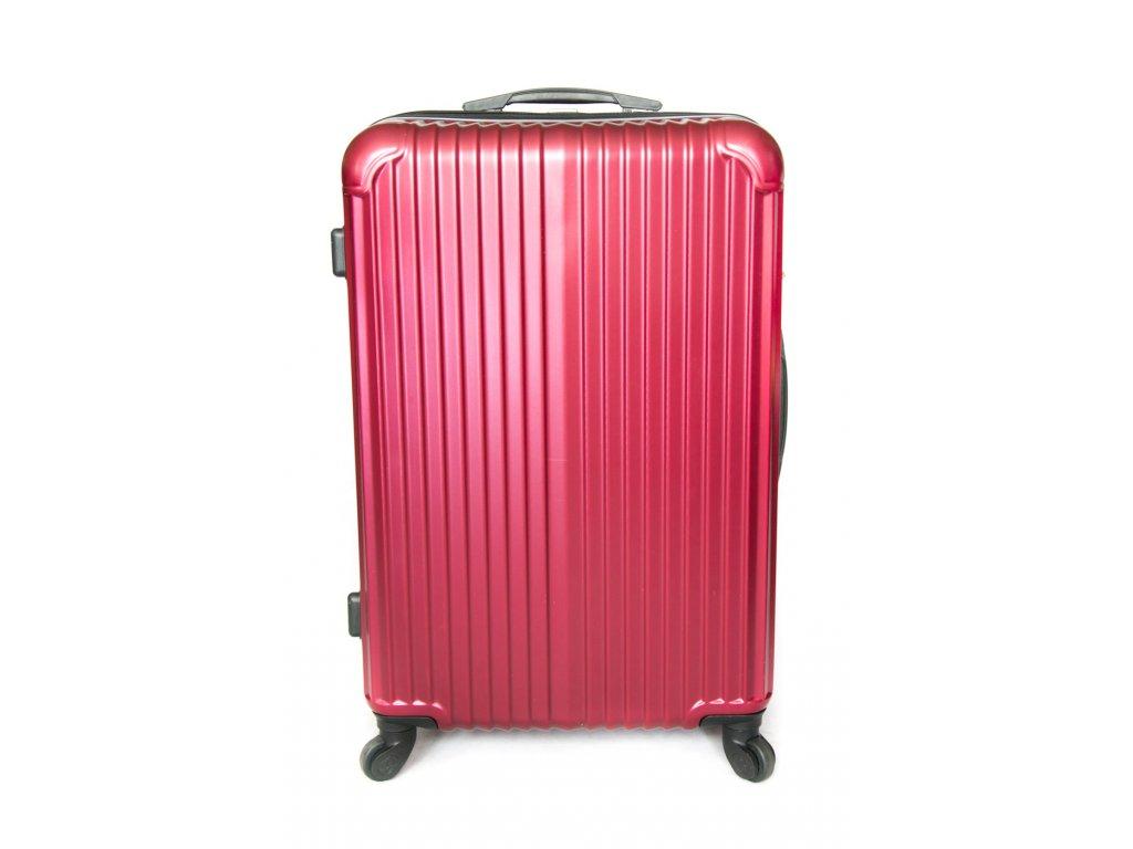 Cestovní kufr vyrobený na Slovensku CK01 - Bordó