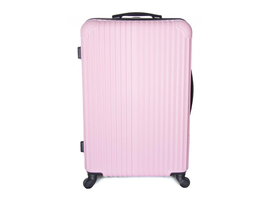 Cestovní kufr vyrobený na Slovensku CK01 - Růžový