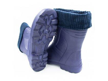 Dámské holínky FLAMEshoes modré