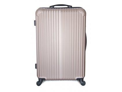 Cestovní kufr vyrobený na Slovensku CK01 - Zlatý