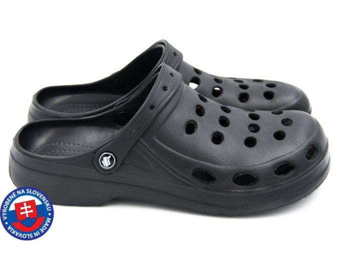 Pánské clogsy FLAMEshoes A-001 černá