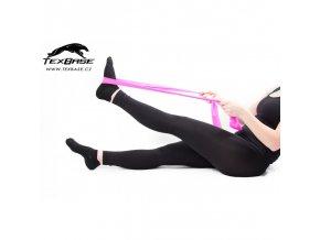 Dámské fitness legíny černé TexBase