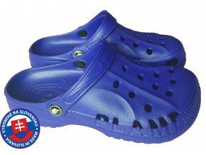 Dámské clogsy FLAMEshoes B-2008 modré