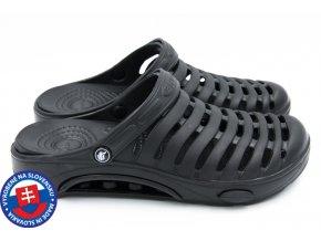 Pánské clogsy FLAMEshoes A-1003 černá