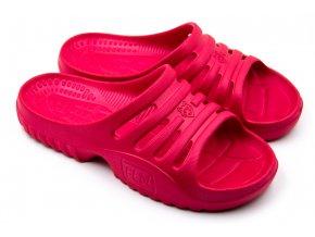 Dámské pantofle FLAMEshoes F-9005 červené