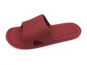 Dámské pantofle FLAMEshoes F-9003 červené