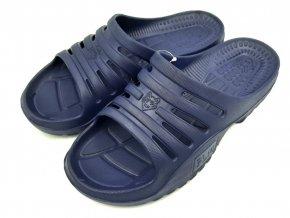 Pánské pantofle FLAMEshoes F-9006 modrá