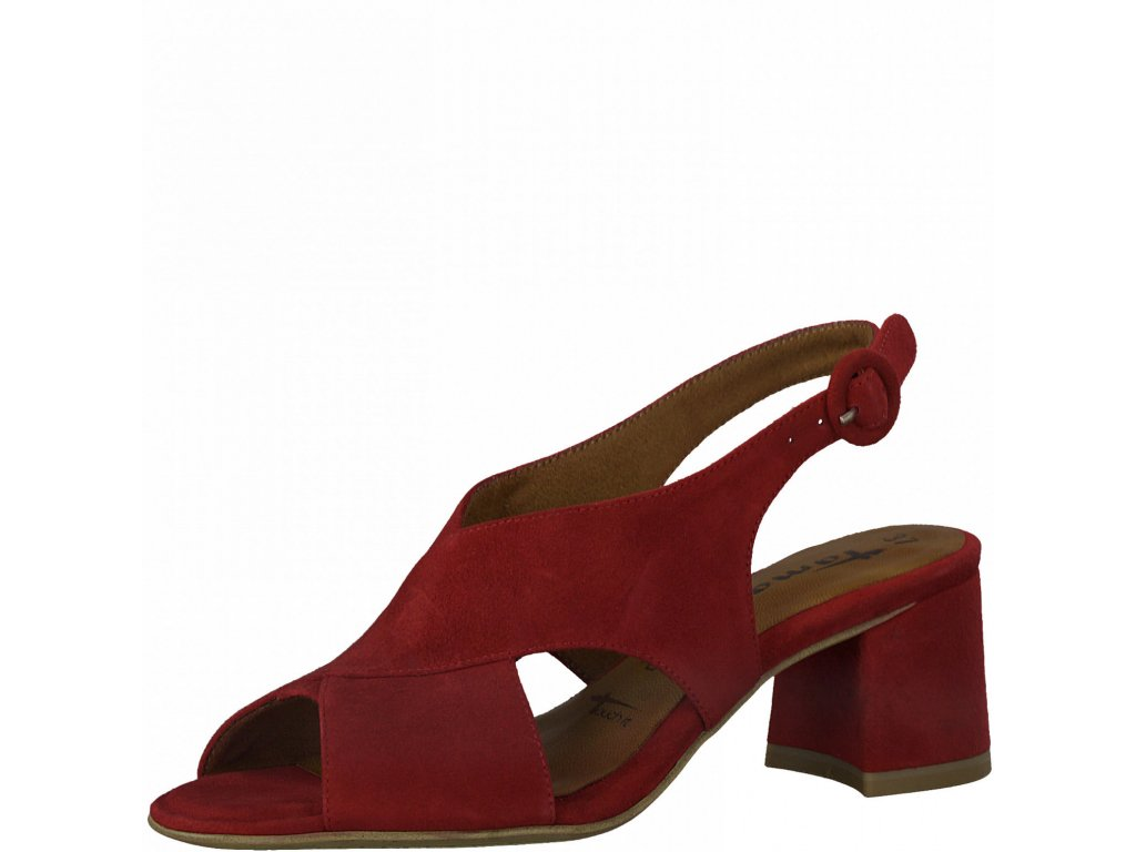 Rubin elegantní sandály Tamaris