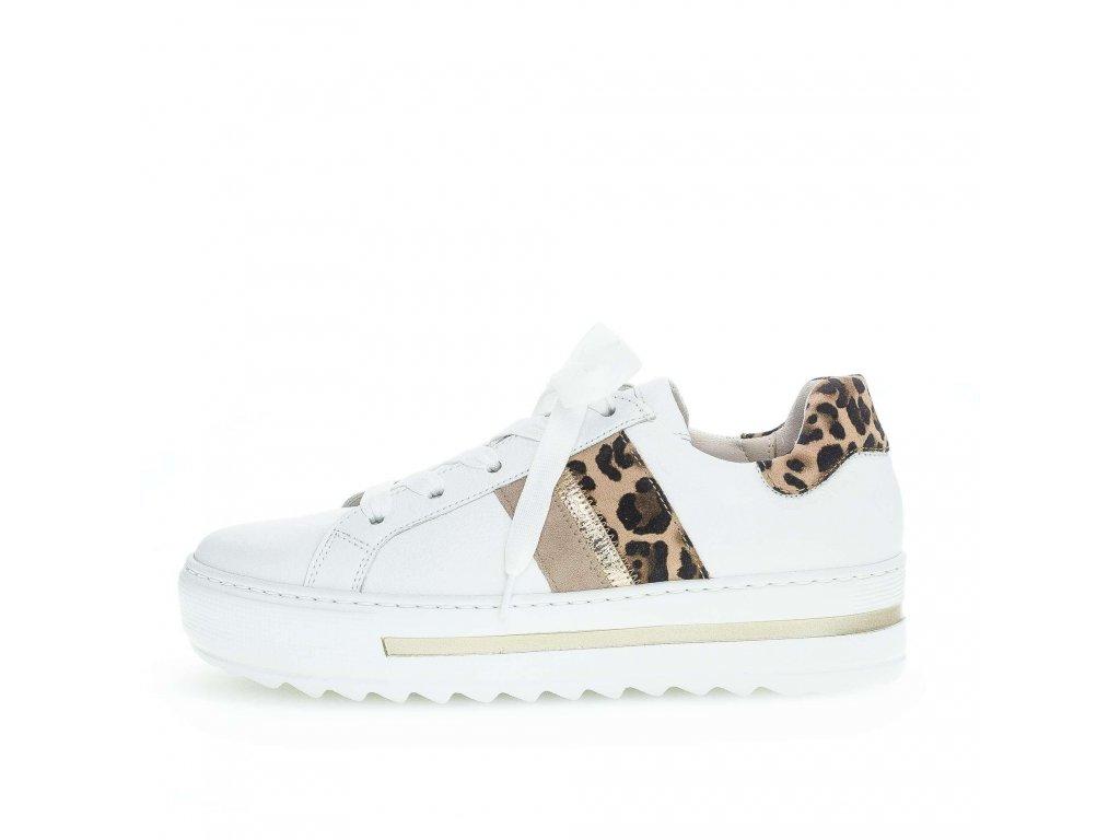 White Leopard stylové tenisky Gabor