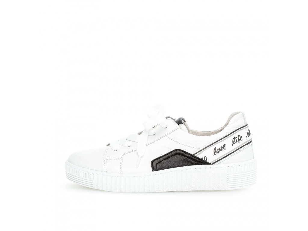White Love Life Shoes tenisky Gabor