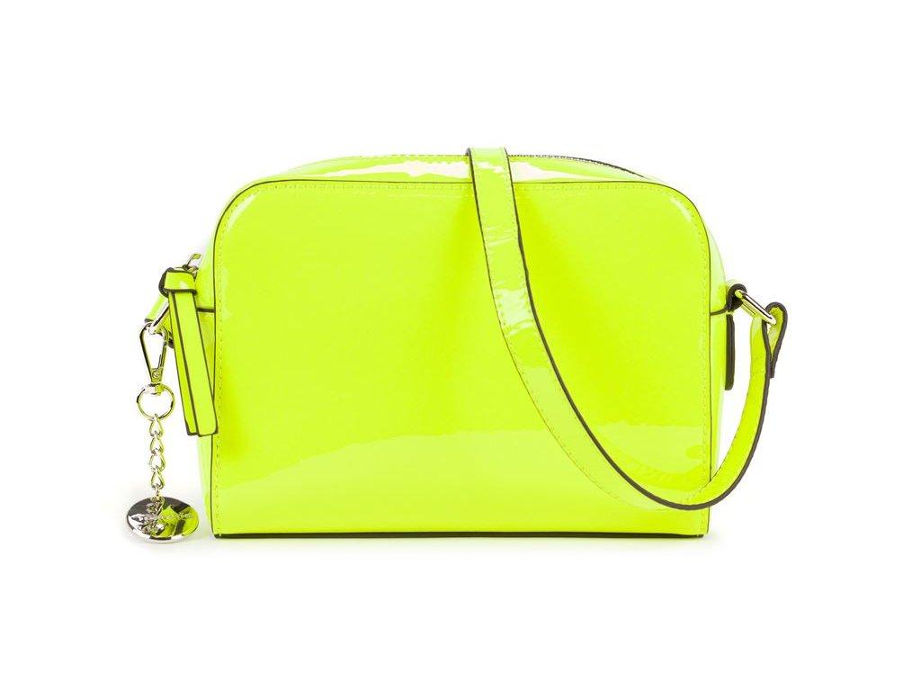 Neonově žlutá kabelka Angelina Tamaris