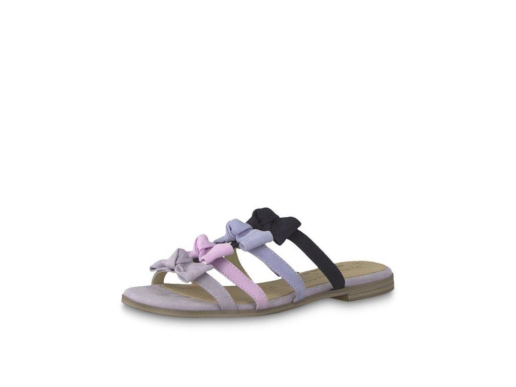 Levander vícebarevné dámské pantofle Tamaris