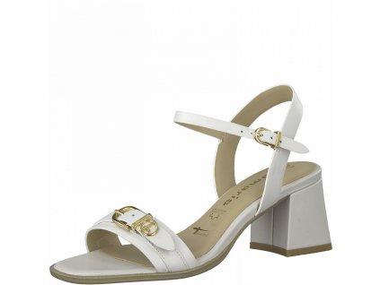 Bílé sandály Tamaris
