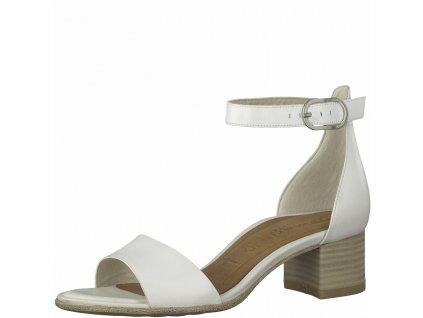 Bílé dámské sandály Tamaris