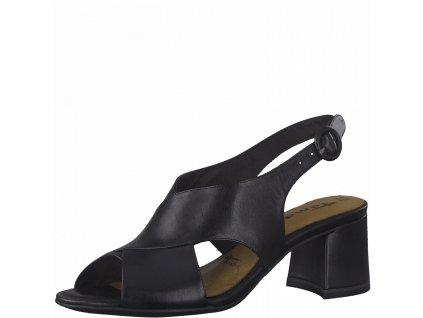 Black elegantní sandály Tamaris