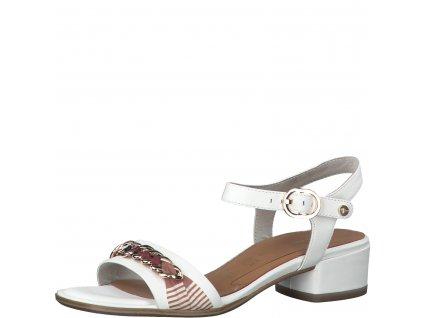 White elegantní dámské sandály Tamaris