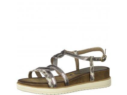 Leopardí sandály Tamaris
