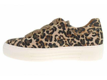 Dámské leopardí tenisky Gabor