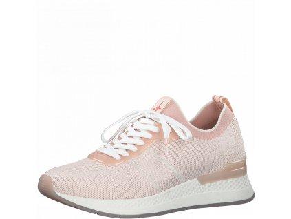 Růžové prodyšné tenisky Tamaris