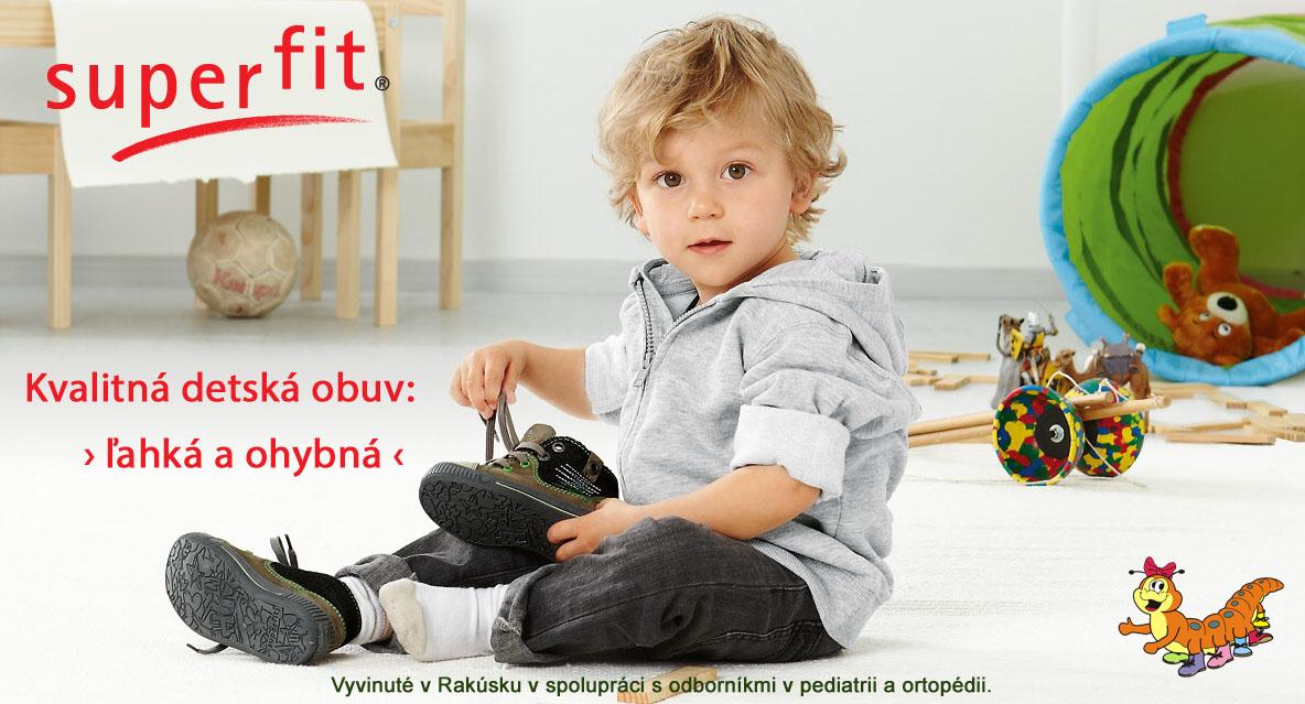Superfit kvalitná detská obuv