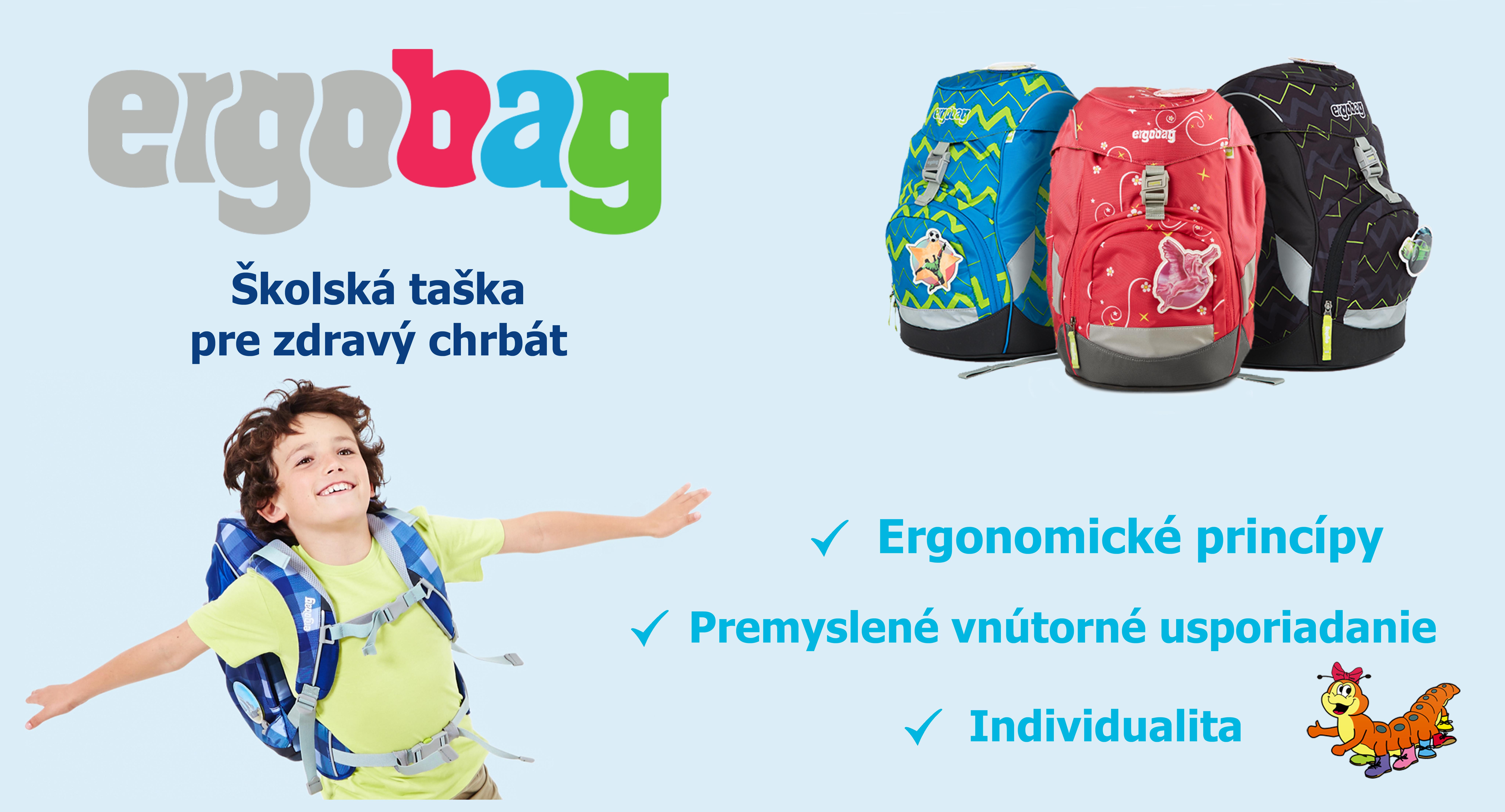 Ergobag - školská taška pre zdravý chrbát