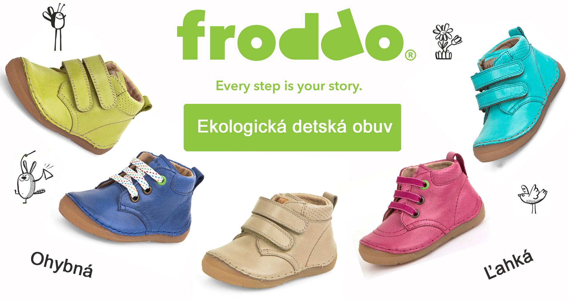 Froddo ekologická detská obuv