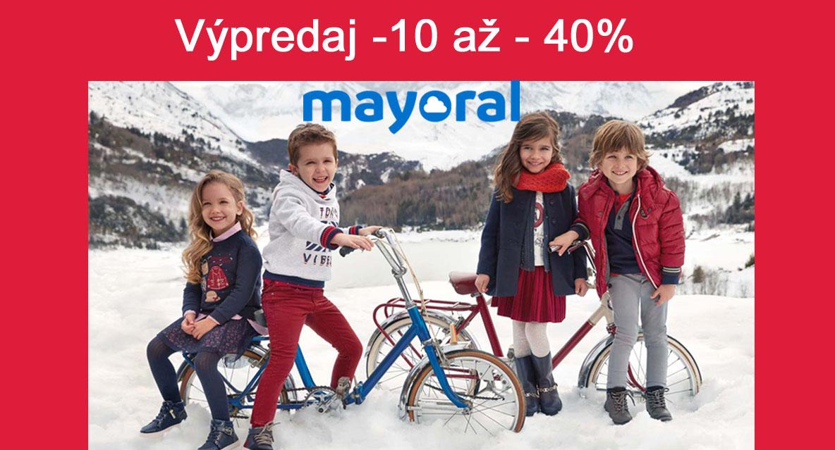 Mayoral kolekcia jeseň-zima 2018