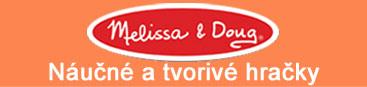 Melissa & Doug - náučné a tvorivé hračky