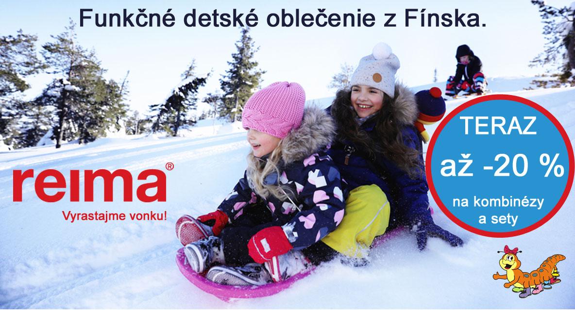 REIMA - funkčné detské oblečenie z Fínska