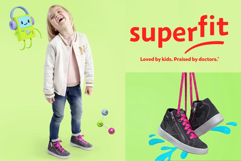 Superfit detská obuv milovaná deťmi, odporúčaná ortopédmi