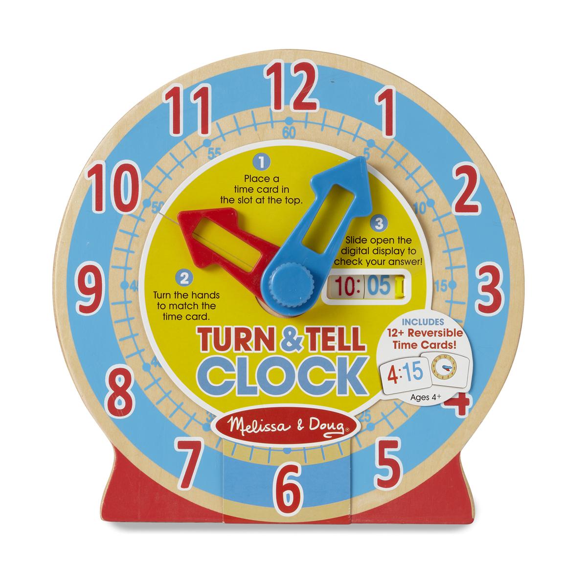 Drevené výučbové hodiny
