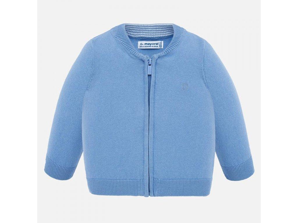 Mayoral Bavlnený sveter so zipsom 20-00305-066