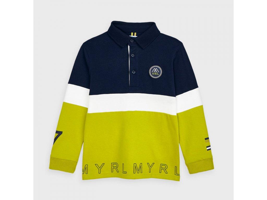 Mayoral Viacfarebné polo tričko 10-04129-075