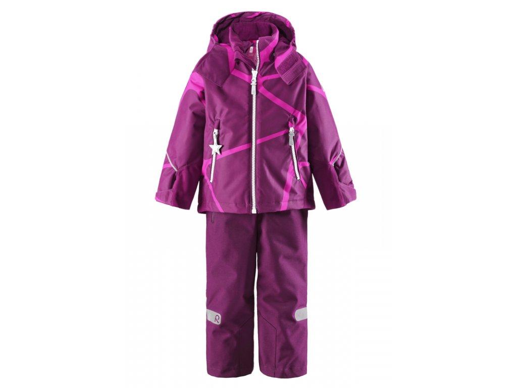 1cb2184fdb94 obuvstonozka.sk - Detské zimné nepremokavé súpravy (bunda a nohavice) pre  dievčatá - REIMA