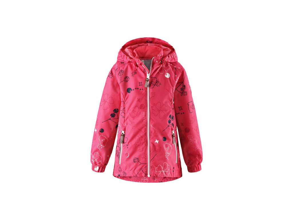 eng pl Reimatec jacket Reima Anise Strawberry red with pattern without insulation 9287 4