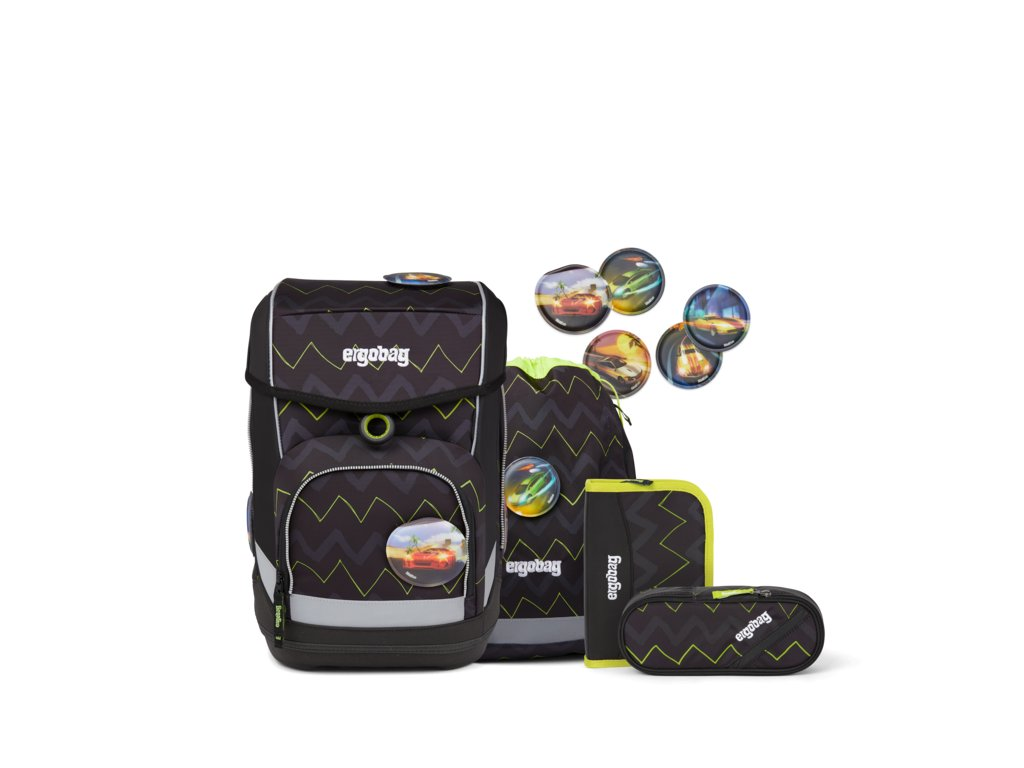 ERGOBAG skolska taska cubo set bearpower