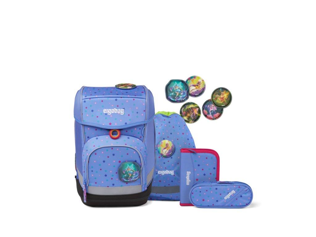 ERGOBAG skolska taska cubo set adorabearl
