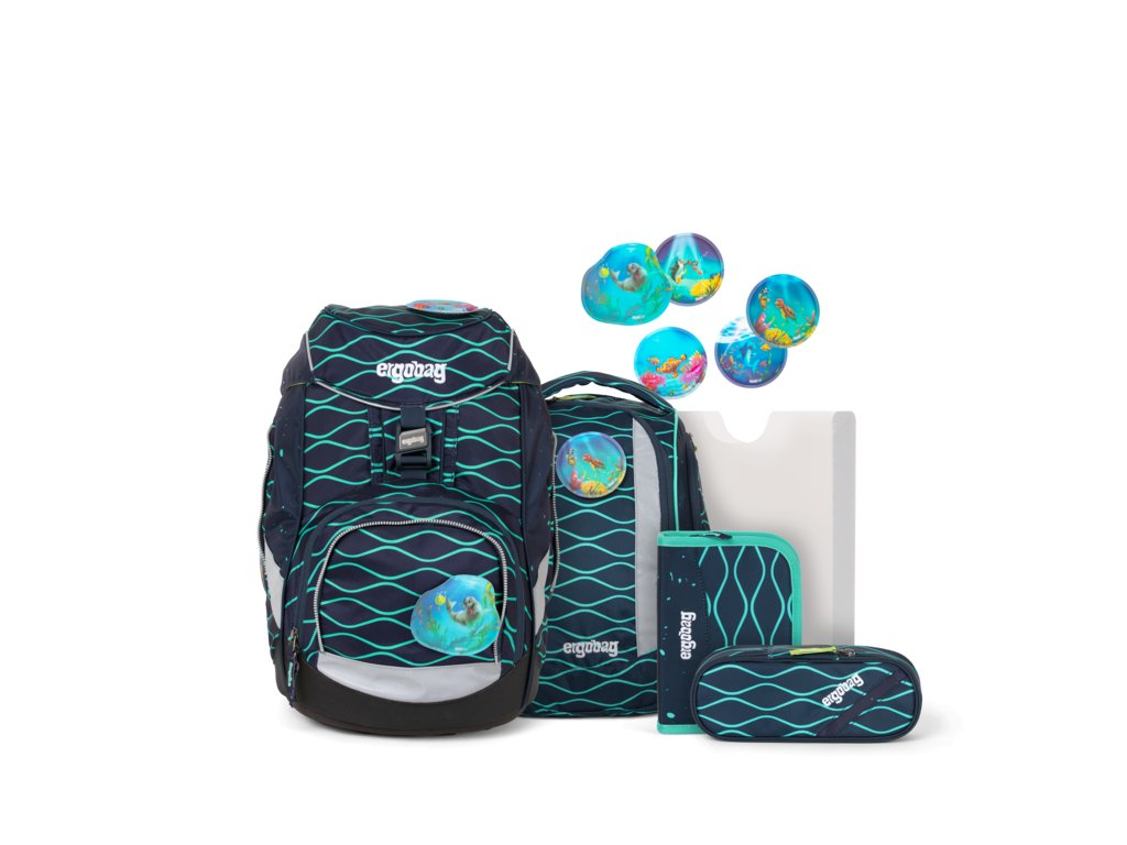 ERGOBAG skolska taska pack set bubblebear