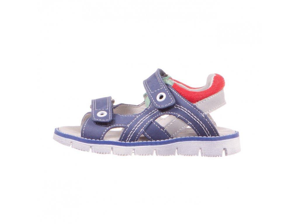 Flex Baltic 2503 boys open toe leather sandal royal blue red grey green Ciciban 1 1024x1024@2x